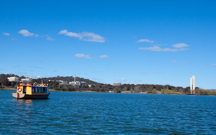 Lake Burley Griffin the best viewpoint